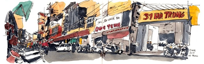Ha Trung street