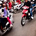Motorbikes in Hanoi