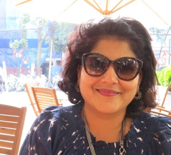 Ms. Nandini Oomman. Taken by VA.