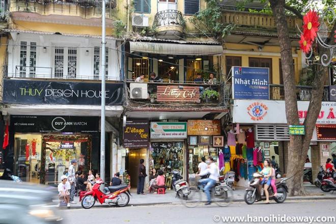L'etage Café, 9A Hang Khay street