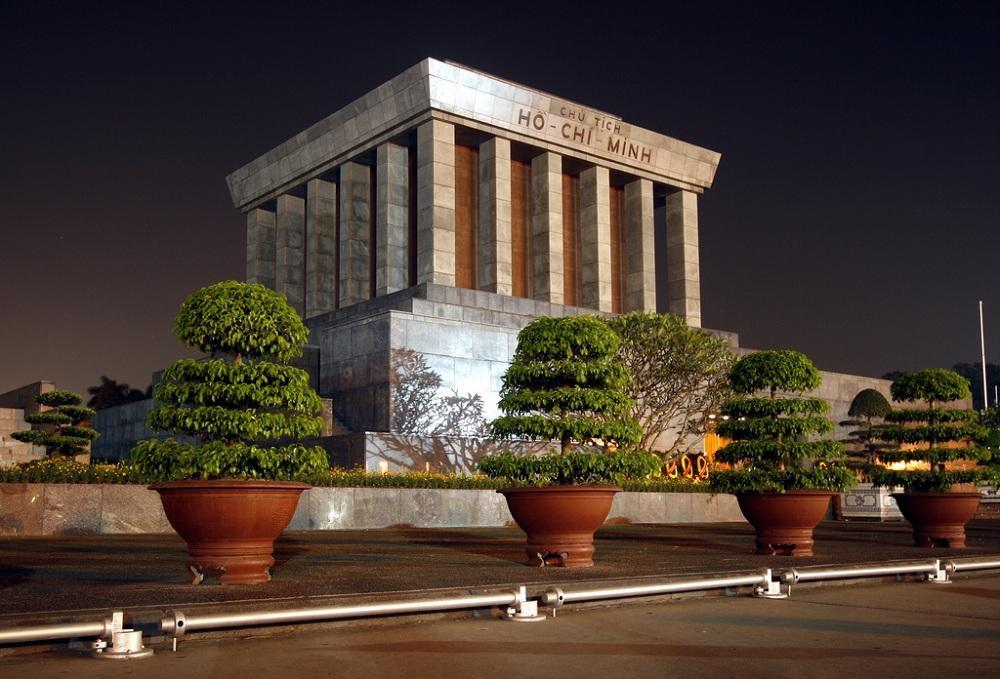 Visit the Ho Chi Minh Mausoleum