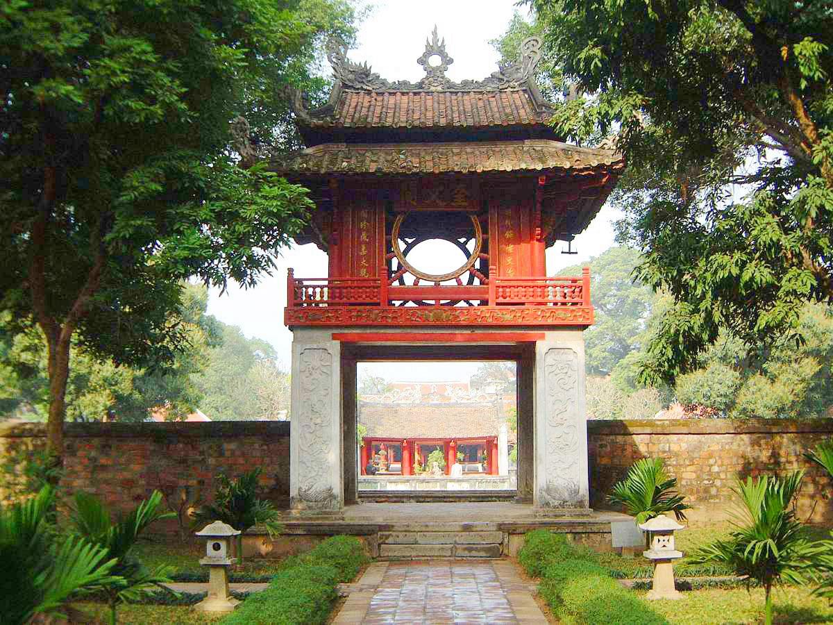 temple of literature- Van Mieu