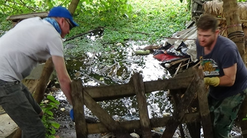 Expats, locals clean up Hanoi