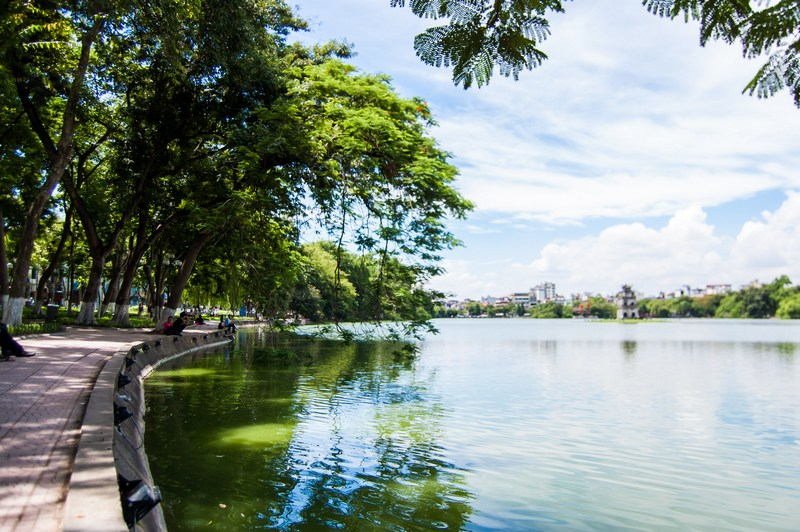 20 things to do in Hanoi-Hoan Kiem Lake