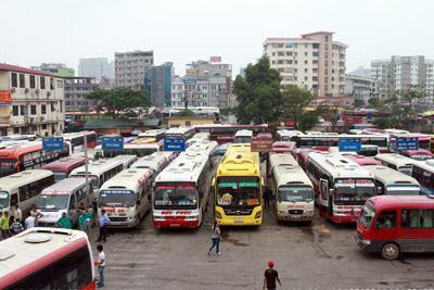How to take long-haul buses in Hanoi