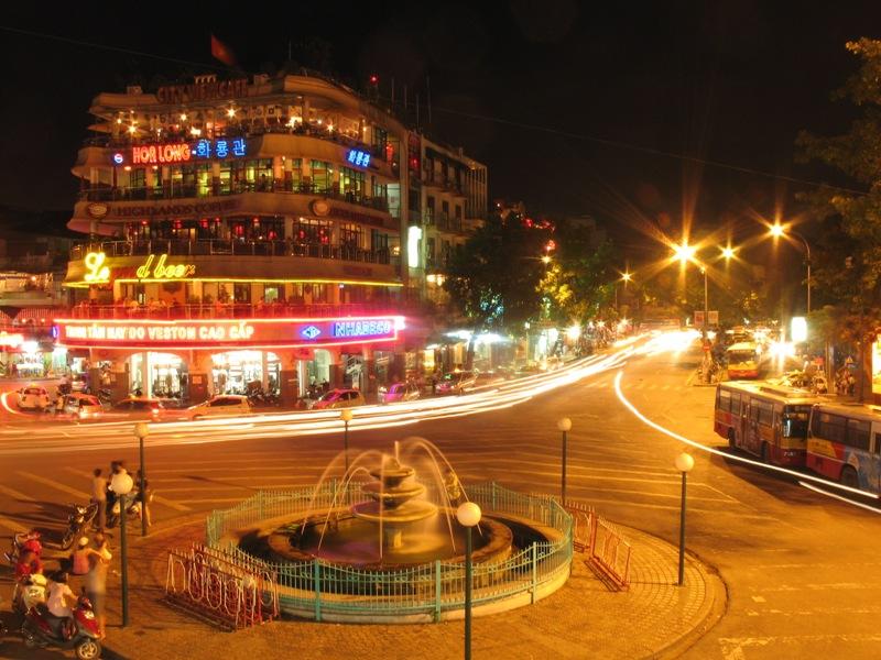 Hanoi in night