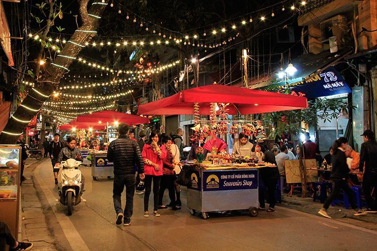 Hanoi Nachtmarkt