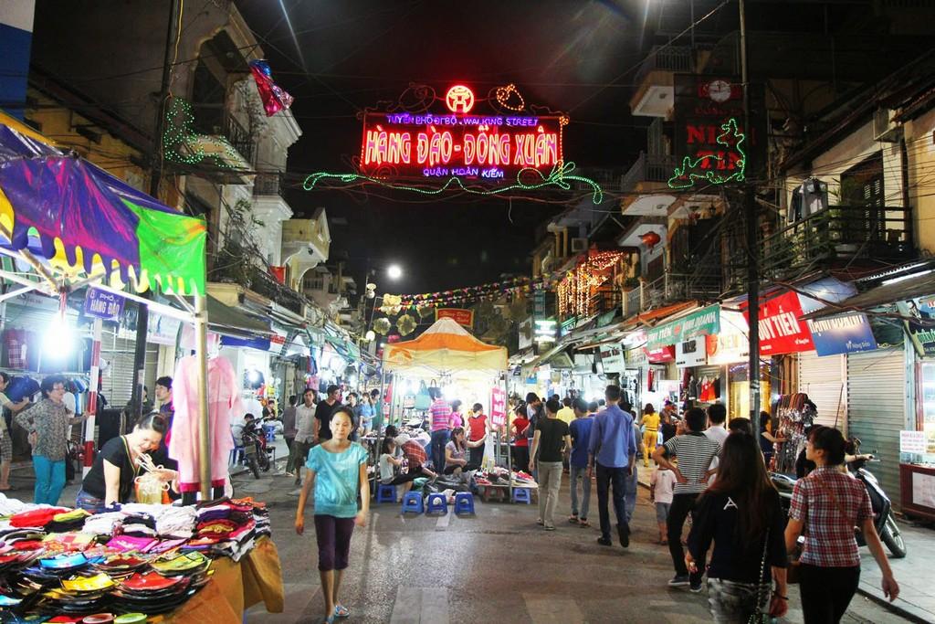 Night markets in Hanoi